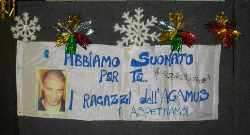 22/dic/2012 Grugliasco Agamus Concerto dedicato a Fabrizio