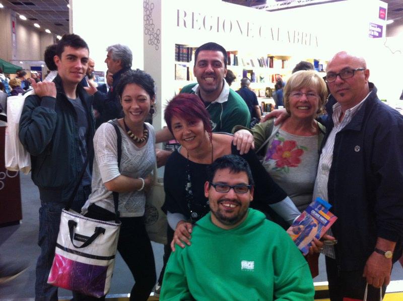 Salone Libro 2013  con gli amici di Fabrizio