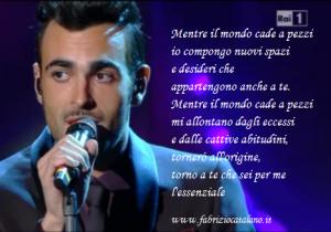 Sanremo 2013 Marco Mengoni - L'Essenziale