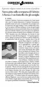 Corriere Dell'Umbria 17/02/2013