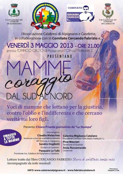 Mamme Coraggio Alpignano 3 maggio 2013