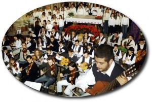 Fabrizio Catalano durante il Concerto di Natale